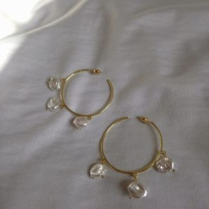 buy peal wedding earrings online
