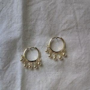 buy bohemina huggie earrings online