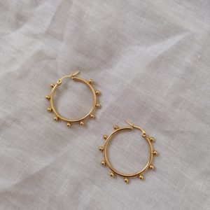 buy gold hoop earrings online